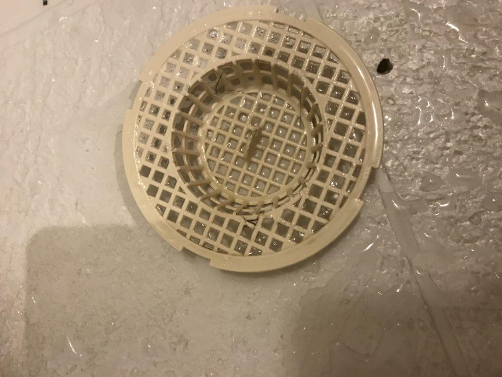 排水口受け皿 詰まり