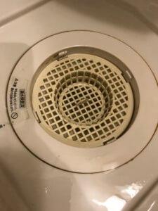 お風呂の排水溝の流れが悪い