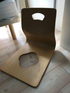 温泉旅館にある座椅子