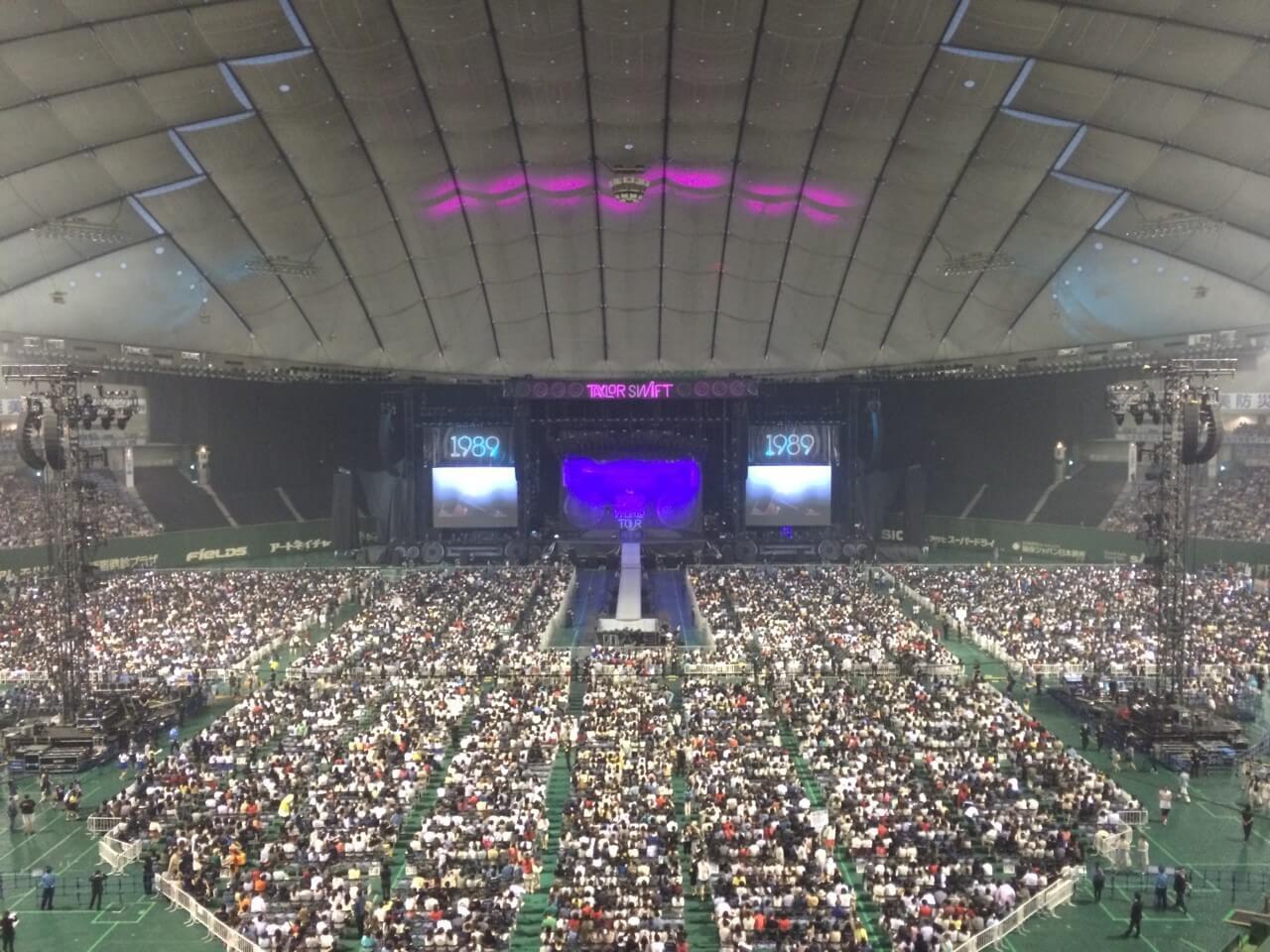 Taylor Swift 1989 ワールドツアー 初日の東京ドーム日本公演