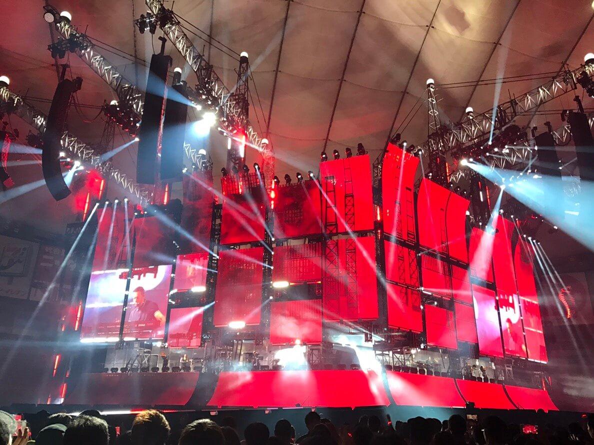 Taylor Swift 東京ドーム日本公演 セット